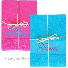 ručníky přesně v našich barvách
