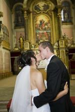 prvá novomanželská pusa