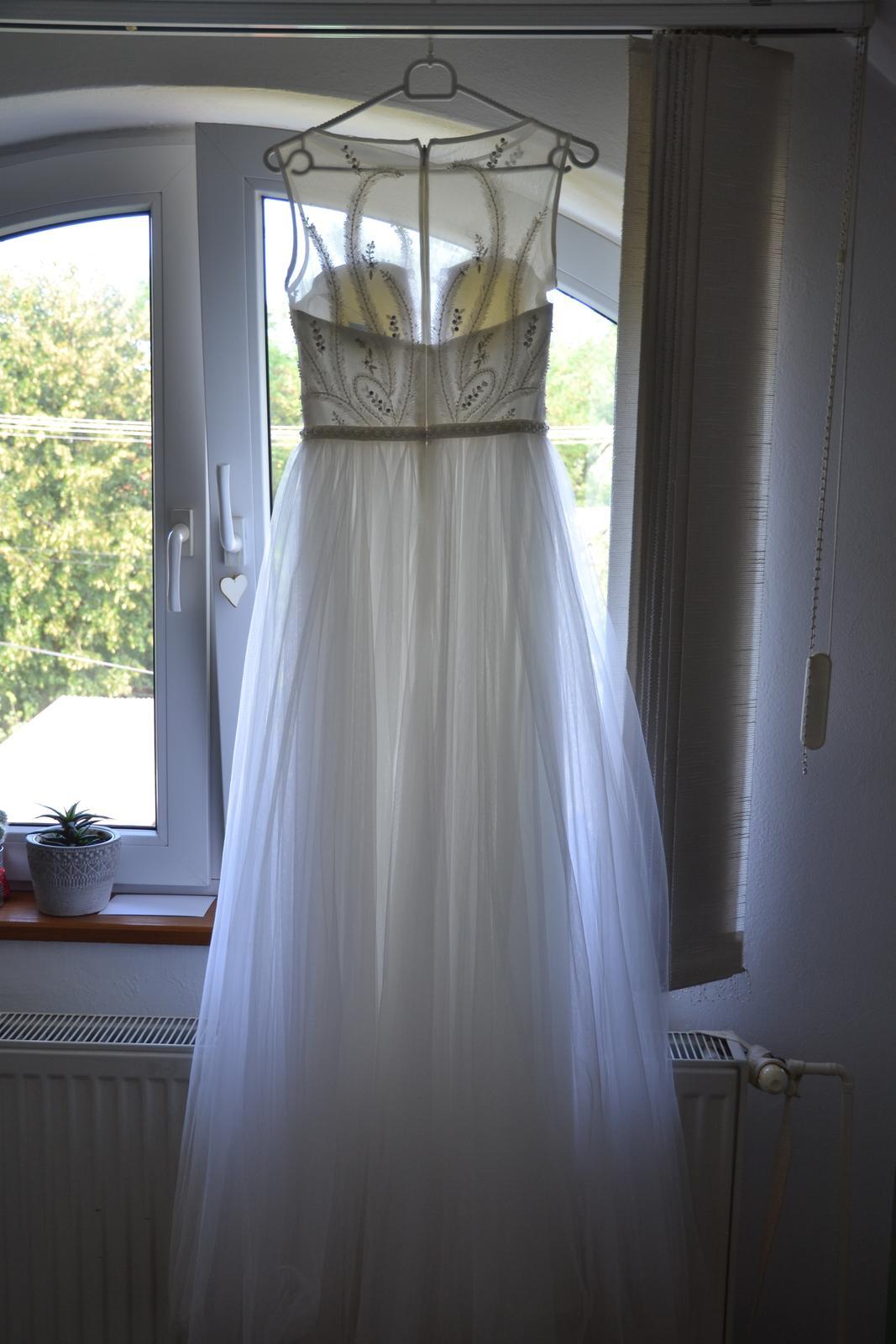 svadobné šaty XS - Obrázok č. 1