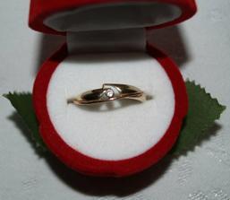 a zásnubní prstýnek :o)