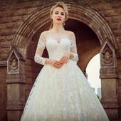 Svadobné šaty v.- 32-56, 36