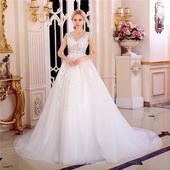 Svadobné šaty v. 32-56, 40