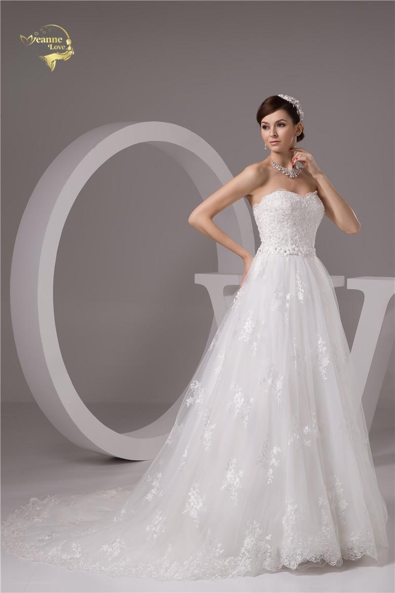 Nové svadobné šaty v.32-56 - Obrázok č. 3