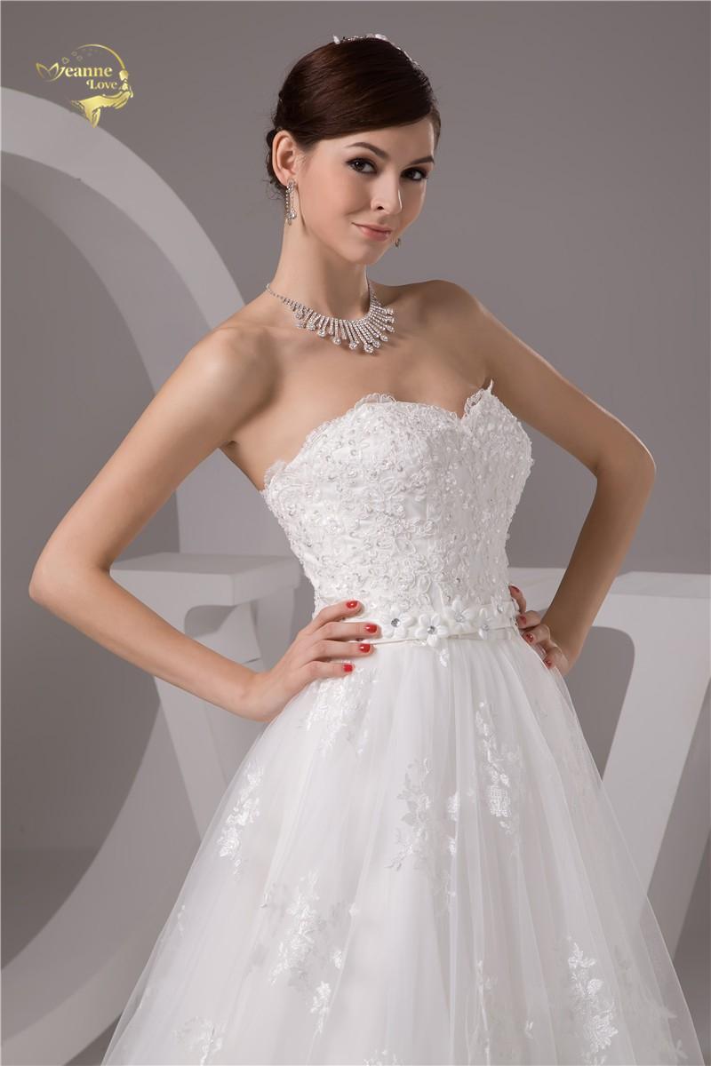 Nové svadobné šaty v.32-56 - Obrázok č. 2