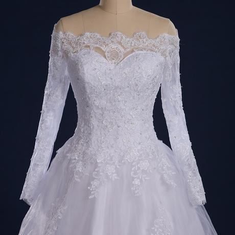 Svadobné šaty 32-56 v.32-34 ihneď k odberu - Obrázok č. 1