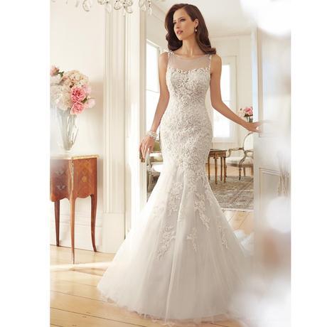 Svadobné šaty v.32-56, v. 38 na sklade - Obrázok č. 1