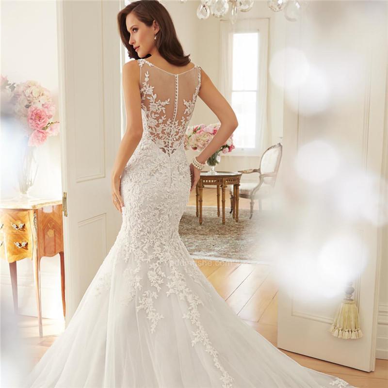 Svadobné šaty v.32-56, v. 38 na sklade - Obrázok č. 2