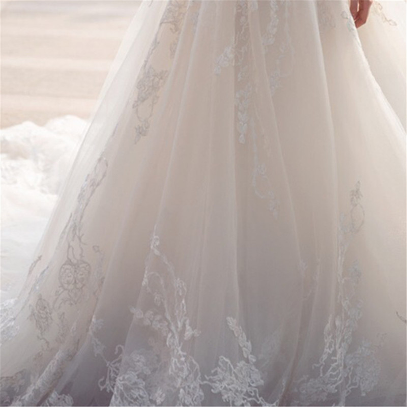Romantické svadobné šaty.32-56 v.38 ihneď k odberu - Obrázok č. 2