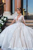 Exkluzívne svadobné šaty v.32-56, 44