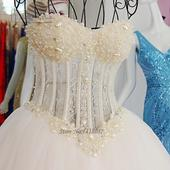Romantické korzetové svadobné šaty v.32-56, 40