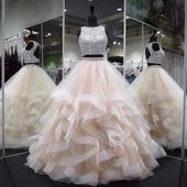 Žiariace svadobné šaty v.32-56, 42