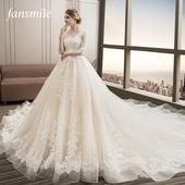Princeznovské svadobné šaty veľkosti 32-54    , 36