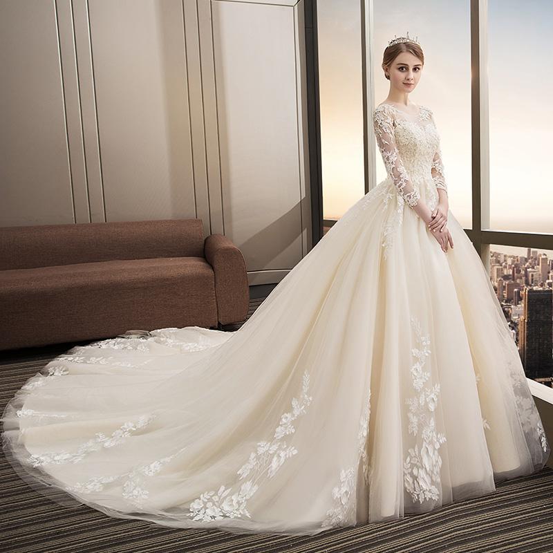 Svadobné šaty veľkosti 32-54 - Obrázok č. 2