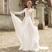 Nové svadobné šaty S-M ihneď k odberu, 36