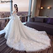 Elegantné svadobné šaty vel. 32-50, 44