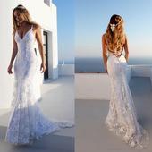 Svadobné šaty vel. 32-50, 40