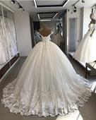 Nadherné svadobné šaty v. 32-50, 42