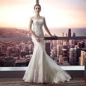 Elegantné svadobné šaty vel. 32-50, 40