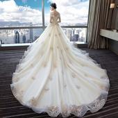 d8889f991b04 Svadobné šaty s dlhým rukávom - na mieru