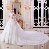 Romantické svadobné šaty v. 32-50, 38