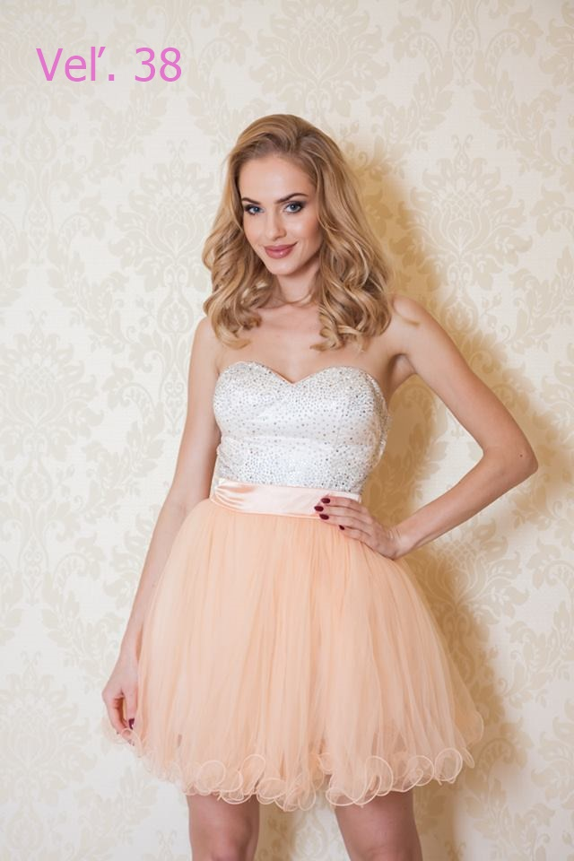 Spoločenské šaty M-L - Obrázok č. 1
