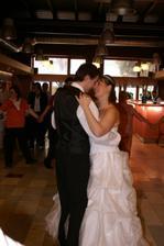 ... první novomanželský tanec ...