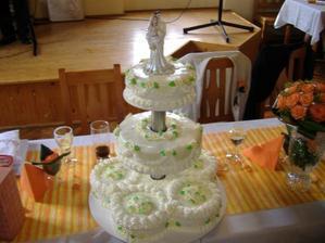 Náš krásný a moc dobrý pařížský dortík
