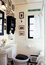 ...o čiernej záchodovej doske....