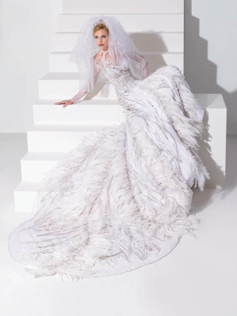Bridal Shower and things... - Blanka Matragi - tipujem, ze toto su tie povestne labutie svadobne saty