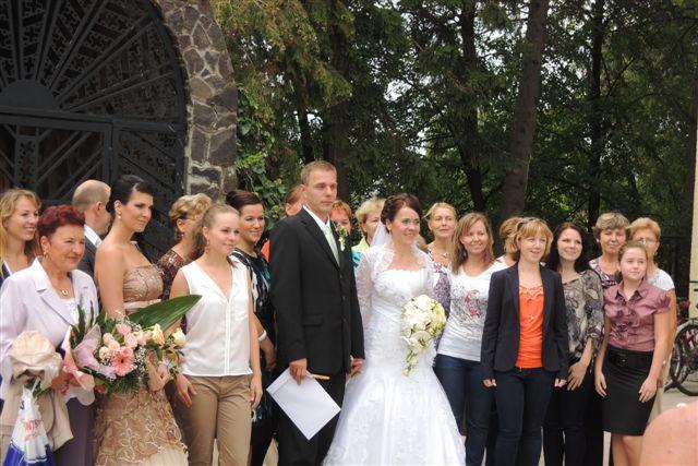 Sylvia Lorinczová{{_AND_}}Ľubomír Štepo - Spoločná fotka so úžasným zborom FIDELITAS.