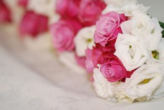 Růžičky měly být fialové...ale maminkám a babičkám se líbily i tak:-)