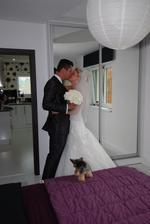 Myslím si, že dodržet zvyk, že má ženich spát noc před svatbou jinde než nevěsta, je moc krásný, protože já jsem se Ládi nemohla dočkat, jak moc jsem se na něj těšila!