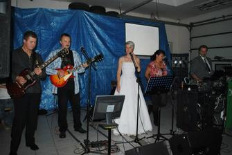Musela jsem si samozřejmě i se svou kapelou zazpívat :-) ......