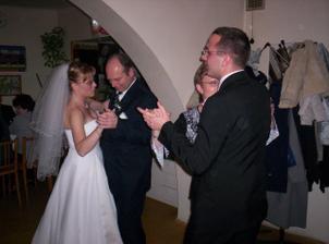 tanec s rodiči nevěsty