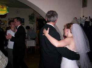 tanec s rodiči ženicha