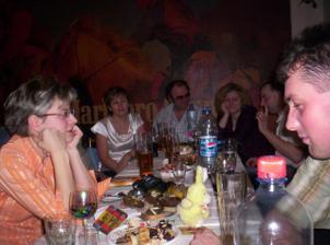 Na konci stolu naši skvělí hudebníci!