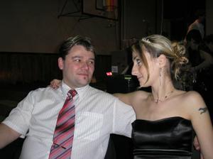 Korunku už sem využila na ples...