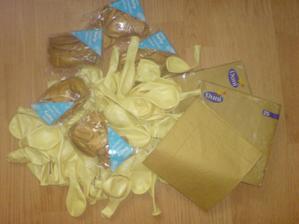 moje balóniky a servítky