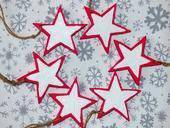 Drevené hviezdičky,