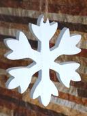 Snehová vločka na zavesenie,