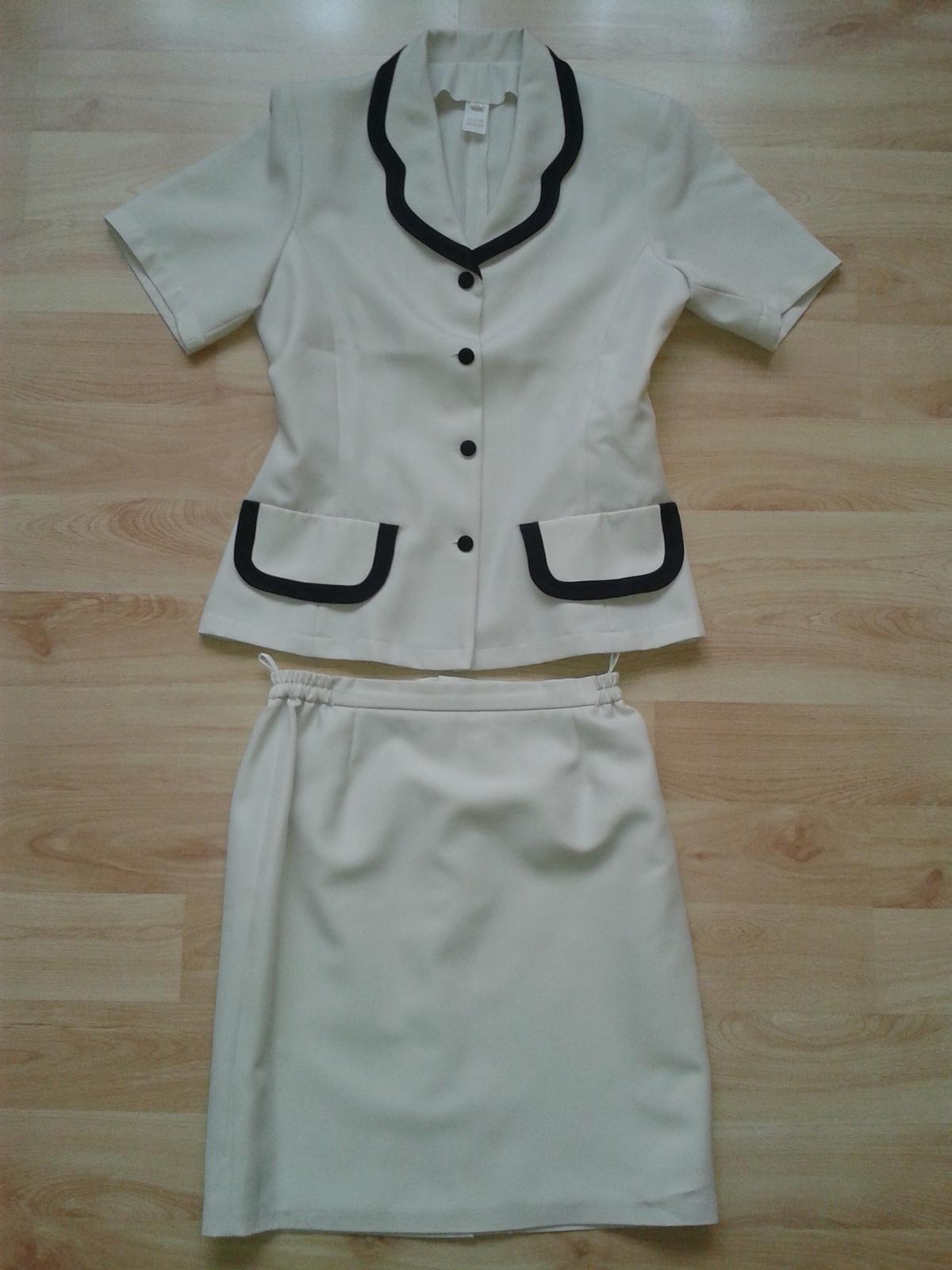Letný sukňový kostým - Obrázok č. 1