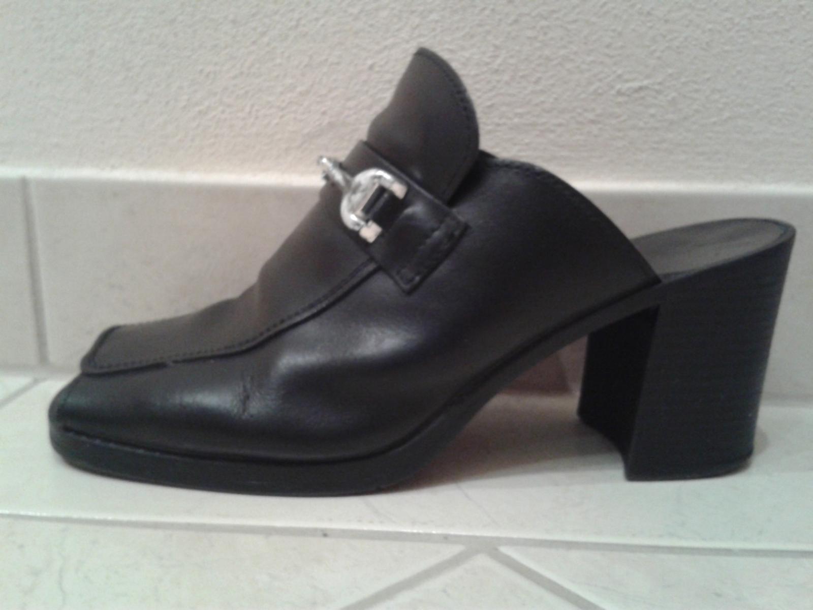Čierne topánky s otvorenou špičkou/pätou - Obrázok č. 2