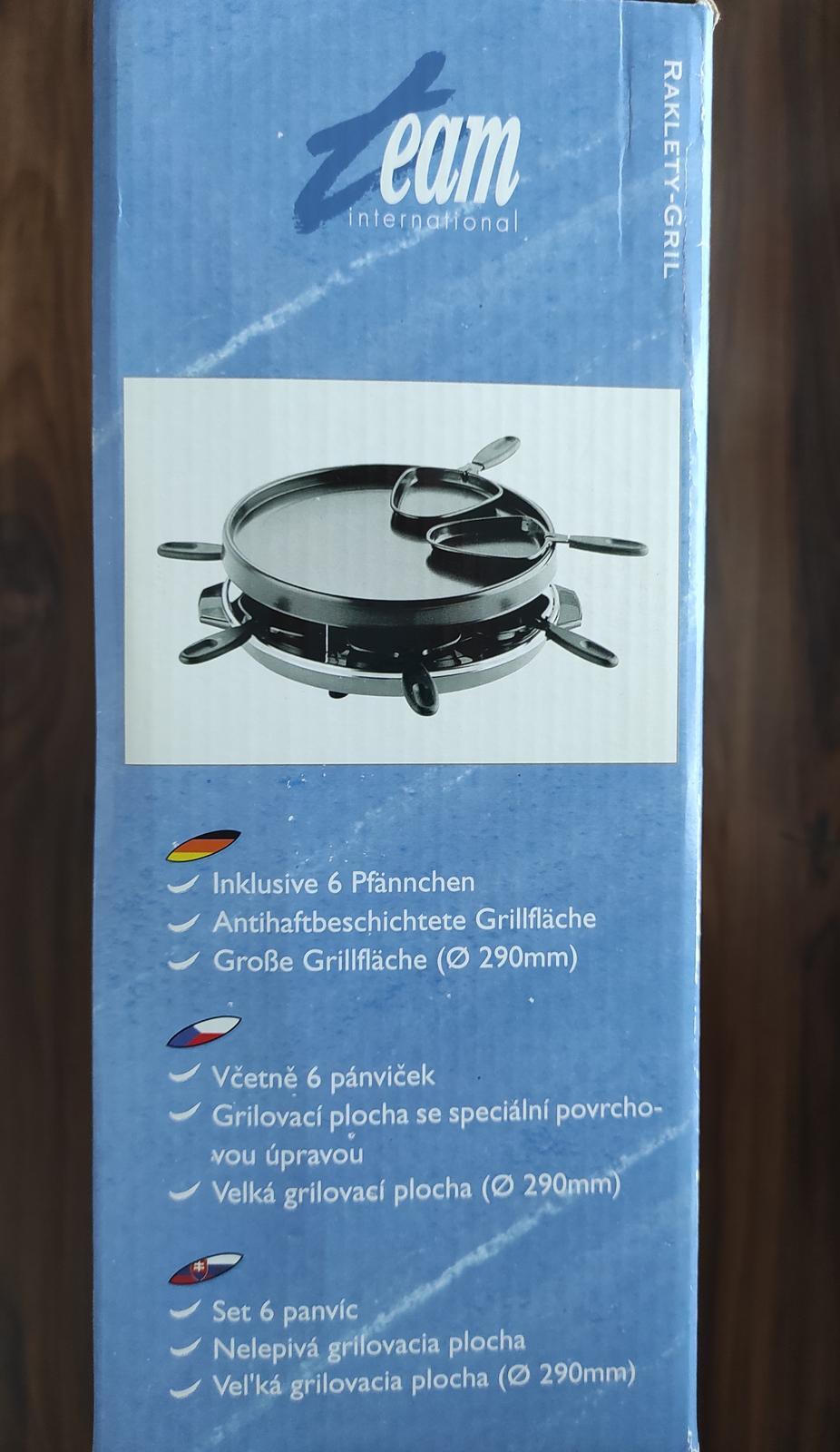 Elektricky raclette gril - Obrázok č. 3