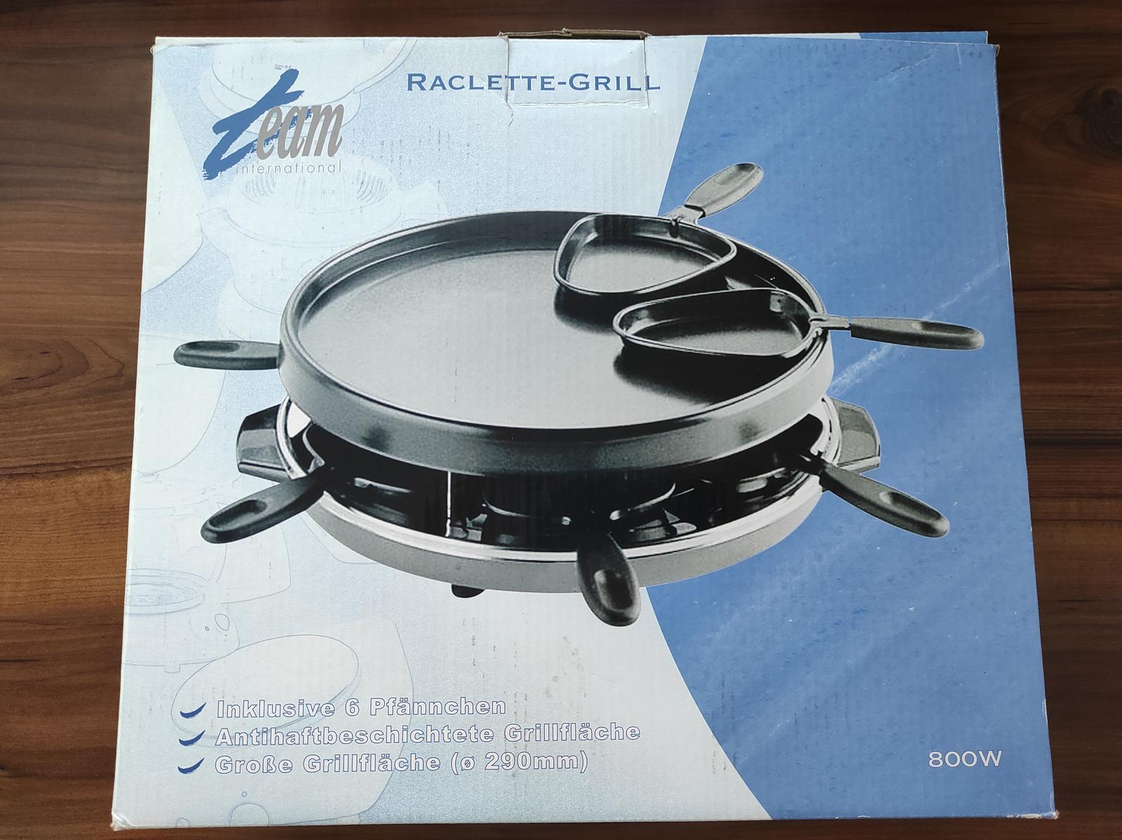 Elektricky raclette gril - Obrázok č. 1