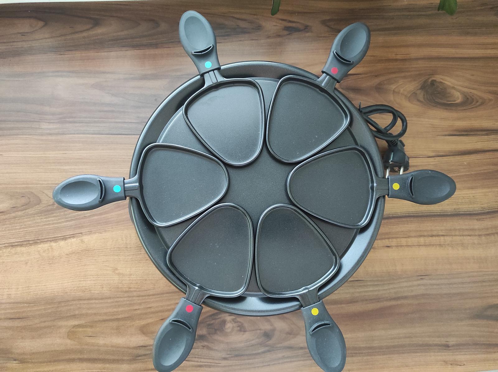 Elektricky raclette gril - Obrázok č. 2