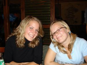 Moja sestřička s Pavlínkou