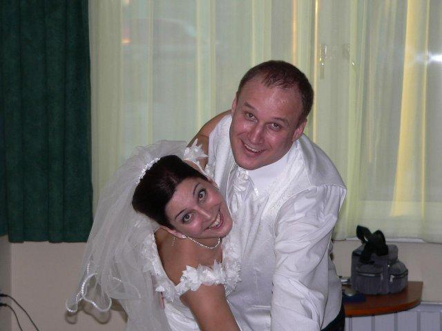 Adka Babikova{{_AND_}}Ericek Drazdak - a usmev pre fotografa :o)