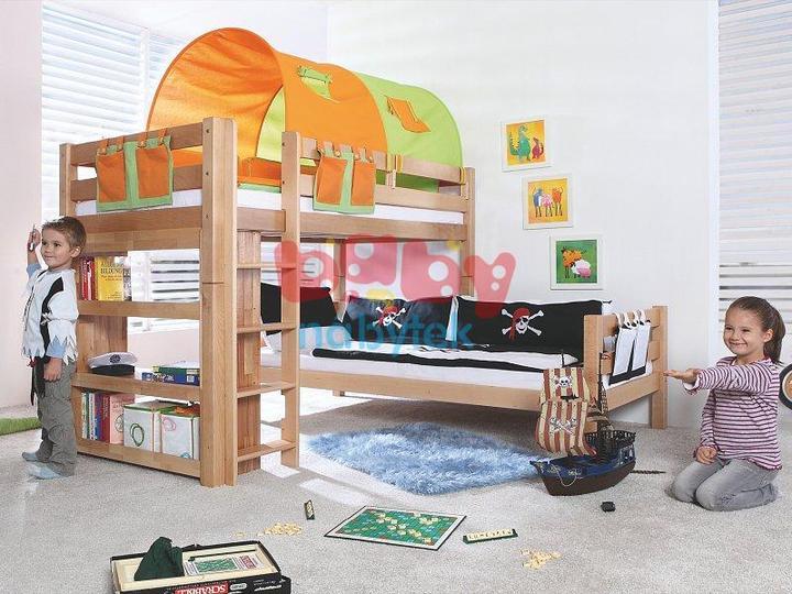 Pokoj pro kluky - baby nábytek Elko Beni-L buk  10 860,-