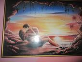 velký romantický obraz,