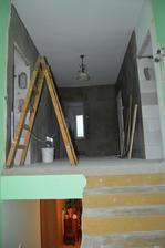 pohľad od schodiska na náš byt :-)